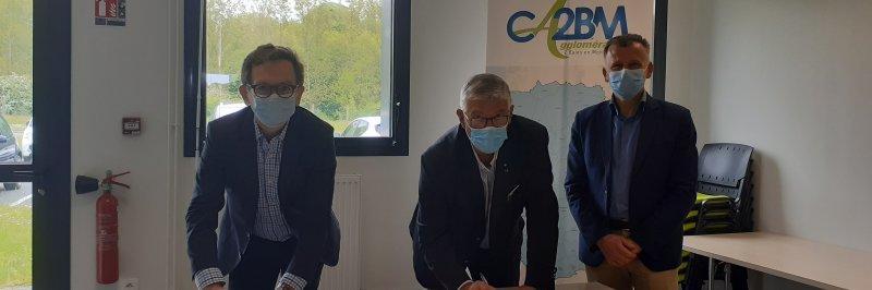 La CA2BM et RECO unis par convention