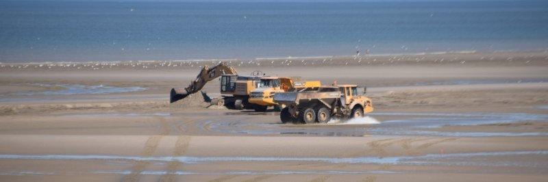 La plage de Merlimont sera rechargée en sable