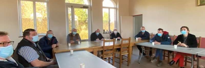 Une réunion de travail pour lutter contre les inondations