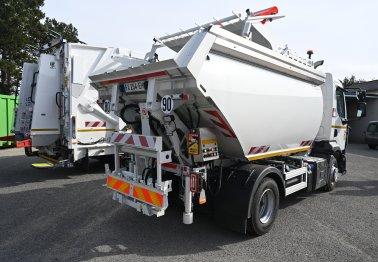 La flotte du service déchets se renouvelle et s'agrandit