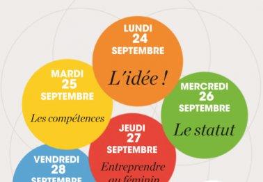 """Semaine de l'Entreprenariat dans le quartier """"Politique de la Ville"""""""